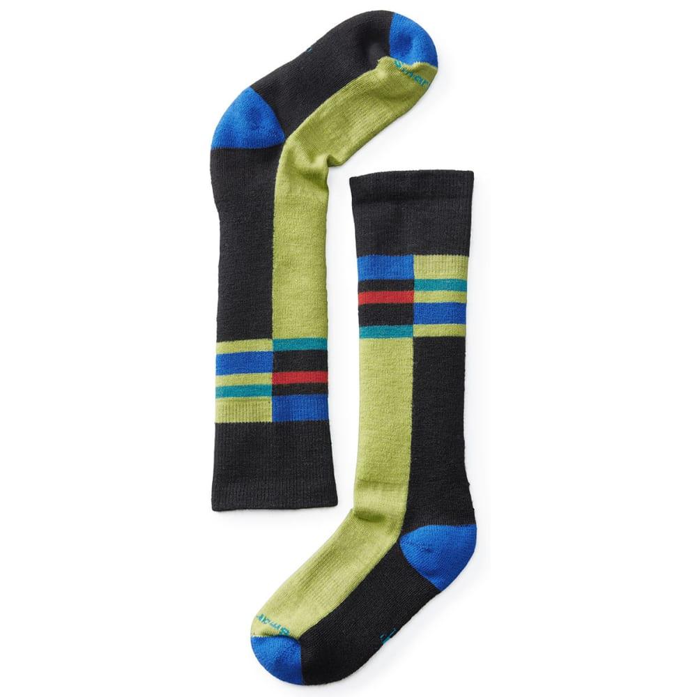 SMARTWOOL Kids' Wintersport Stripe Socks - BLACK 001