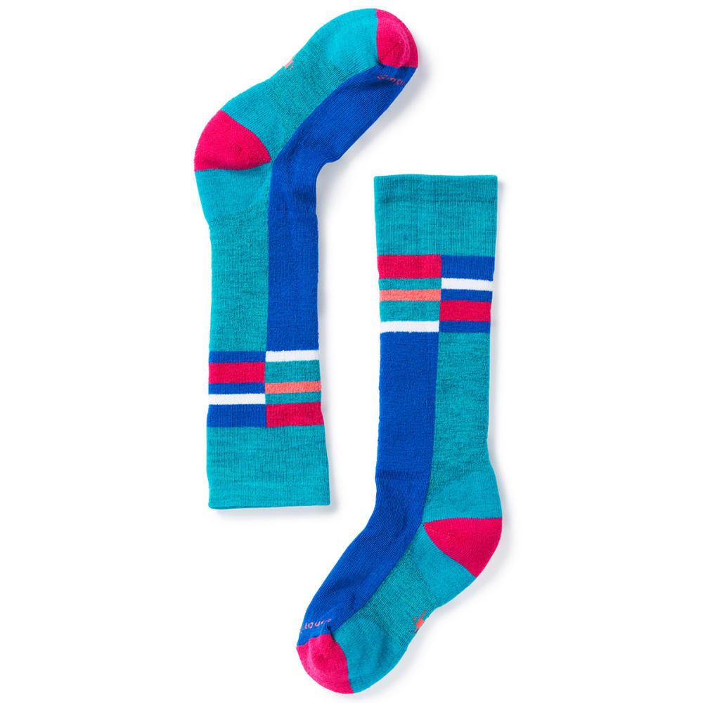 SMARTWOOL Kids' Wintersport Stripe Socks - 810-CAPRI
