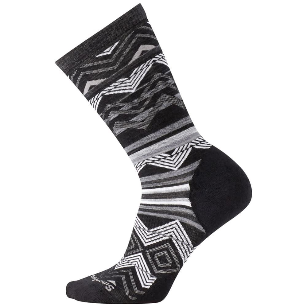 SMARTWOOL Women's Ripple Creek Crew Socks - 001-BLACK