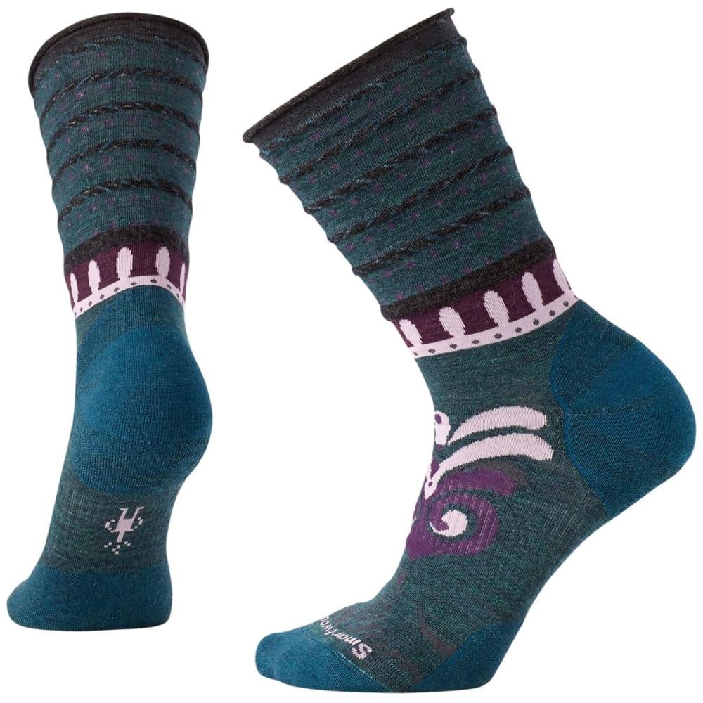 SMARTWOOL Women's Nadie Non-Binding Crew Socks - LOCHNESS HT 961