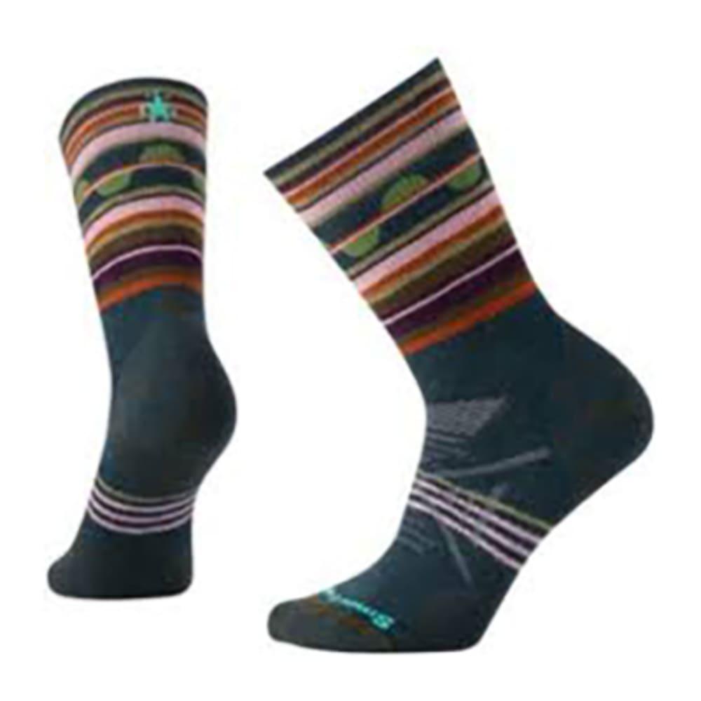 SMARTWOOL Women's PhD Outdoor Medium Pattern Crew Socks - LOCHNESS-957
