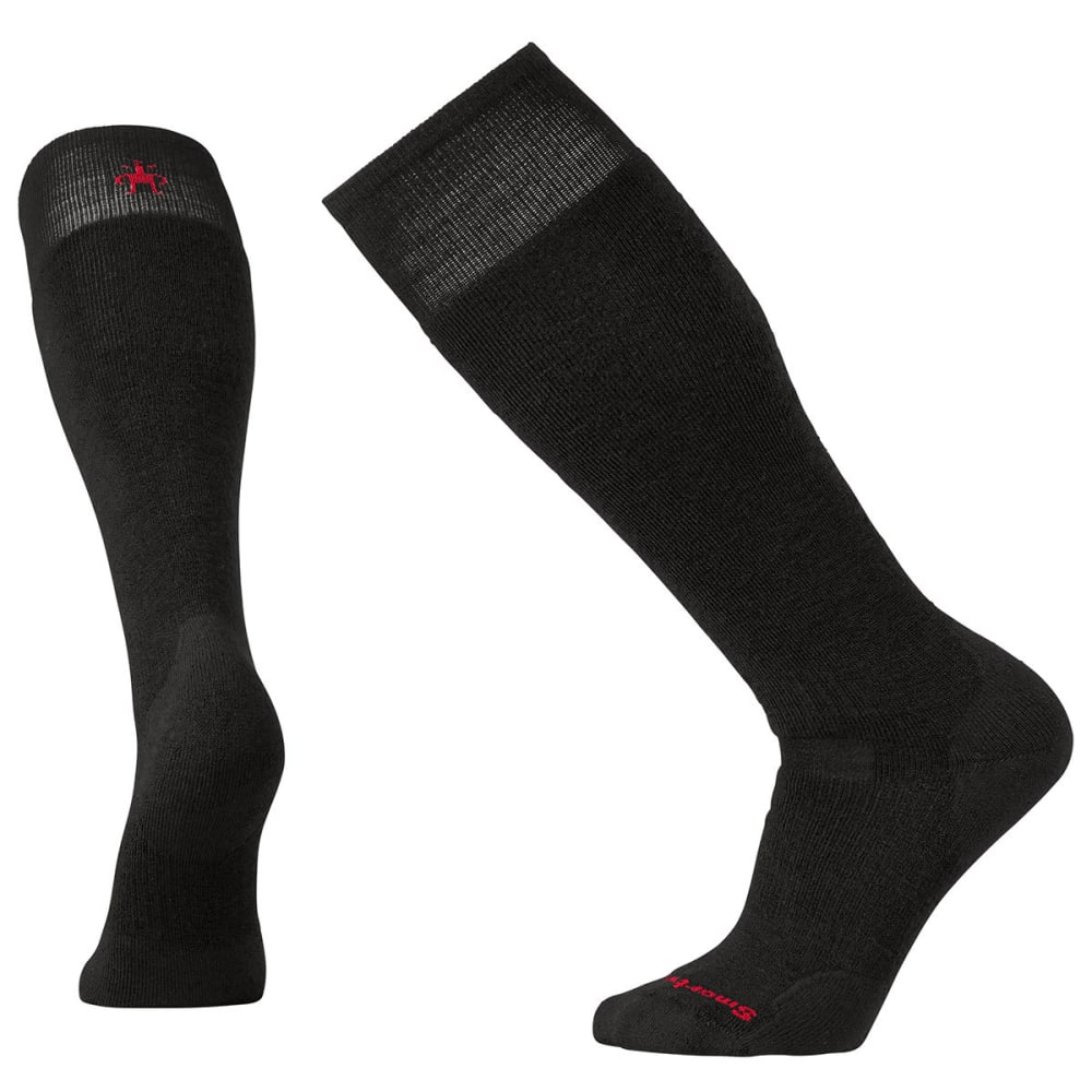SMARTWOOL Men's PhD Slopestyle Medium Socks - BLACK-001