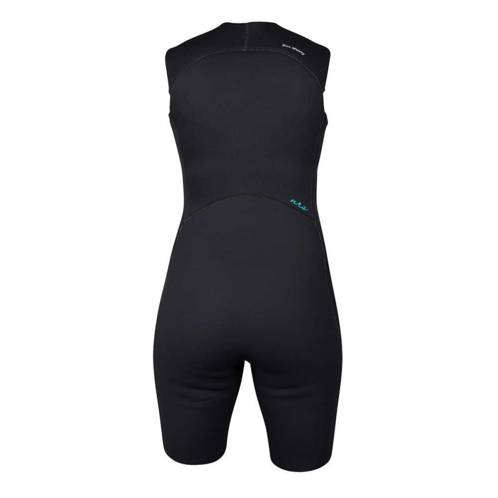NRS Women's 2.0 Shorty Wetsuit - BLACK