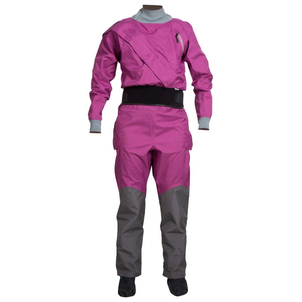 NRS Women's Crux Drysuit - ORCHID