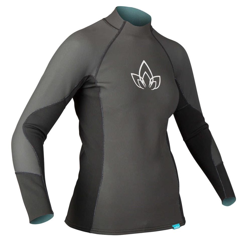 NRS Women's HydroSkin 1.0 Shirt - BLACK