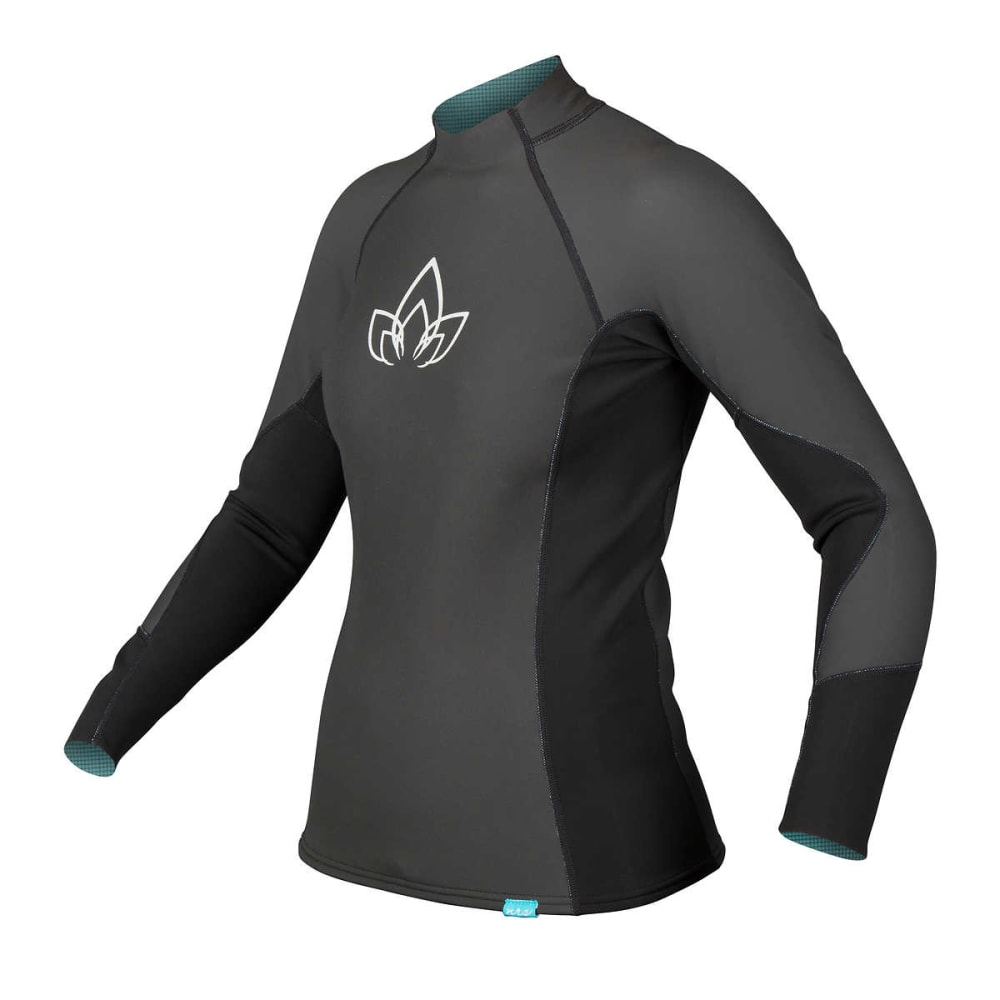 NRS Women's HydroSkin 1.0 Shirt - BLACK