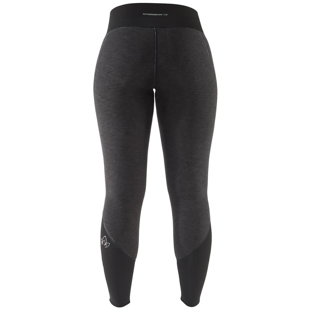 NRS Women's HydroSkin 1.5 Pants - CHARCOAL HEATHER