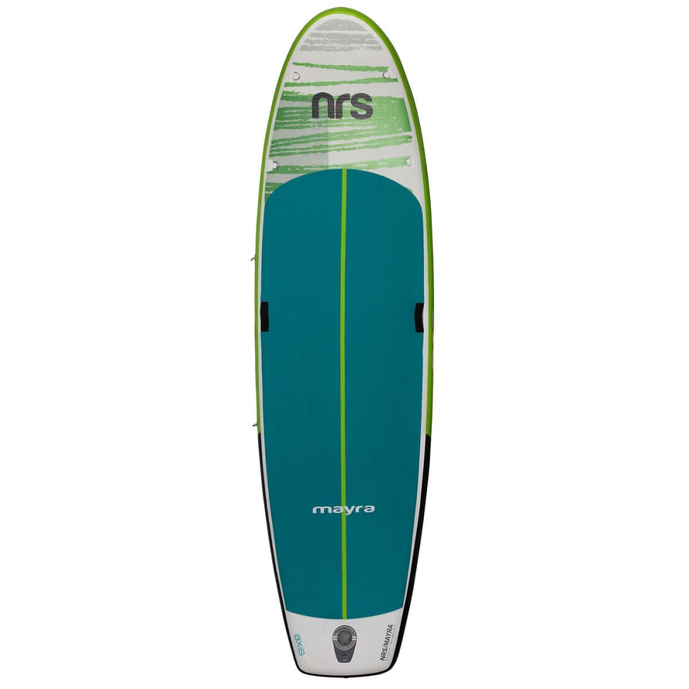 NRS Women's Mayra Inflatable SUP Board - GREY/BLUE/GREEN