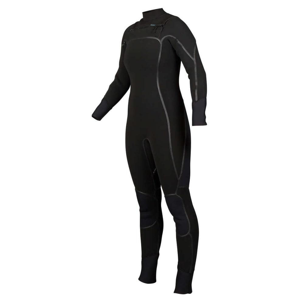 NRS Women's Radiant 4/3mm Wetsuit - BLACK