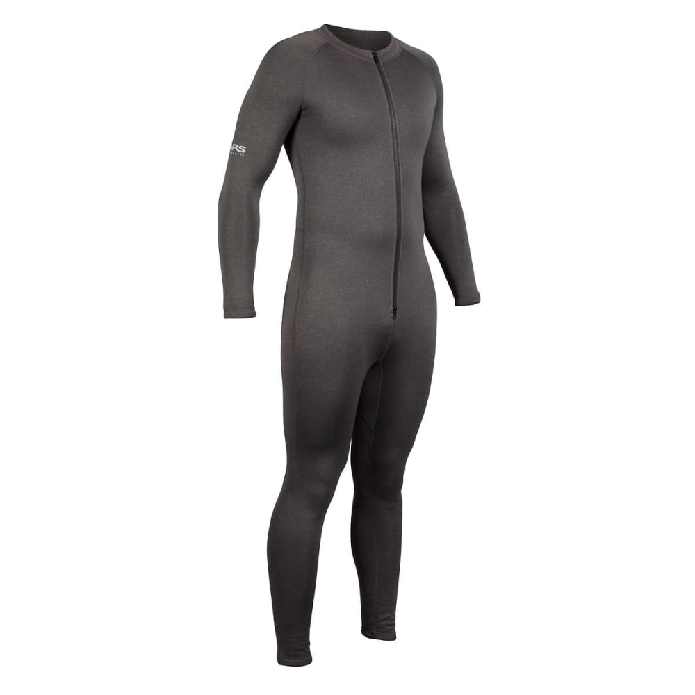 NRS Expedition Union Suit - CHARCOAL HEATHER