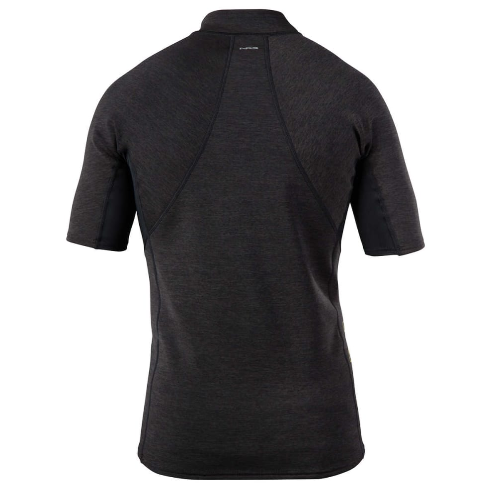 NRS Men's HydroSkin 0.5 Short-Sleeve Shirt - CHARCOAL HEATHER