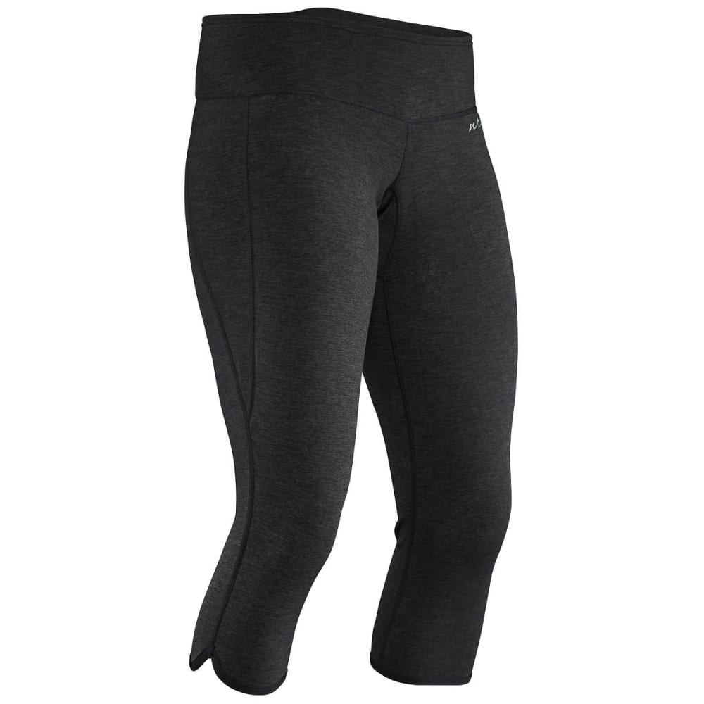 NRS Women's HydroSkin 0.5 Capri - CHARCOAL HEATHER