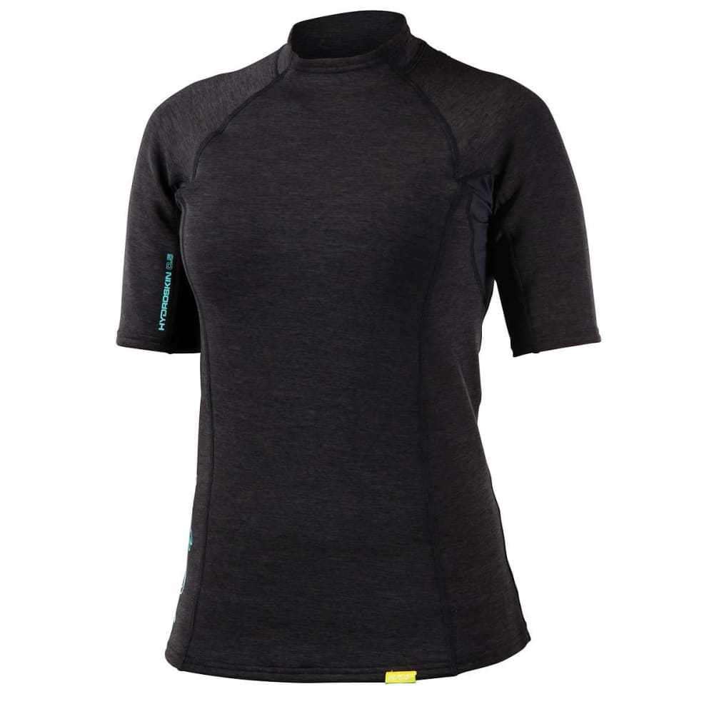 NRS Women's HydroSkin 0.5 Short-Sleeve Shirt - CHARCOAL HEATHER