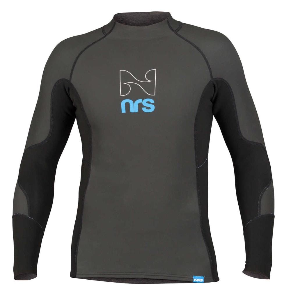 NRS Men's HydroSkin 1.0 Shirt - BLACK
