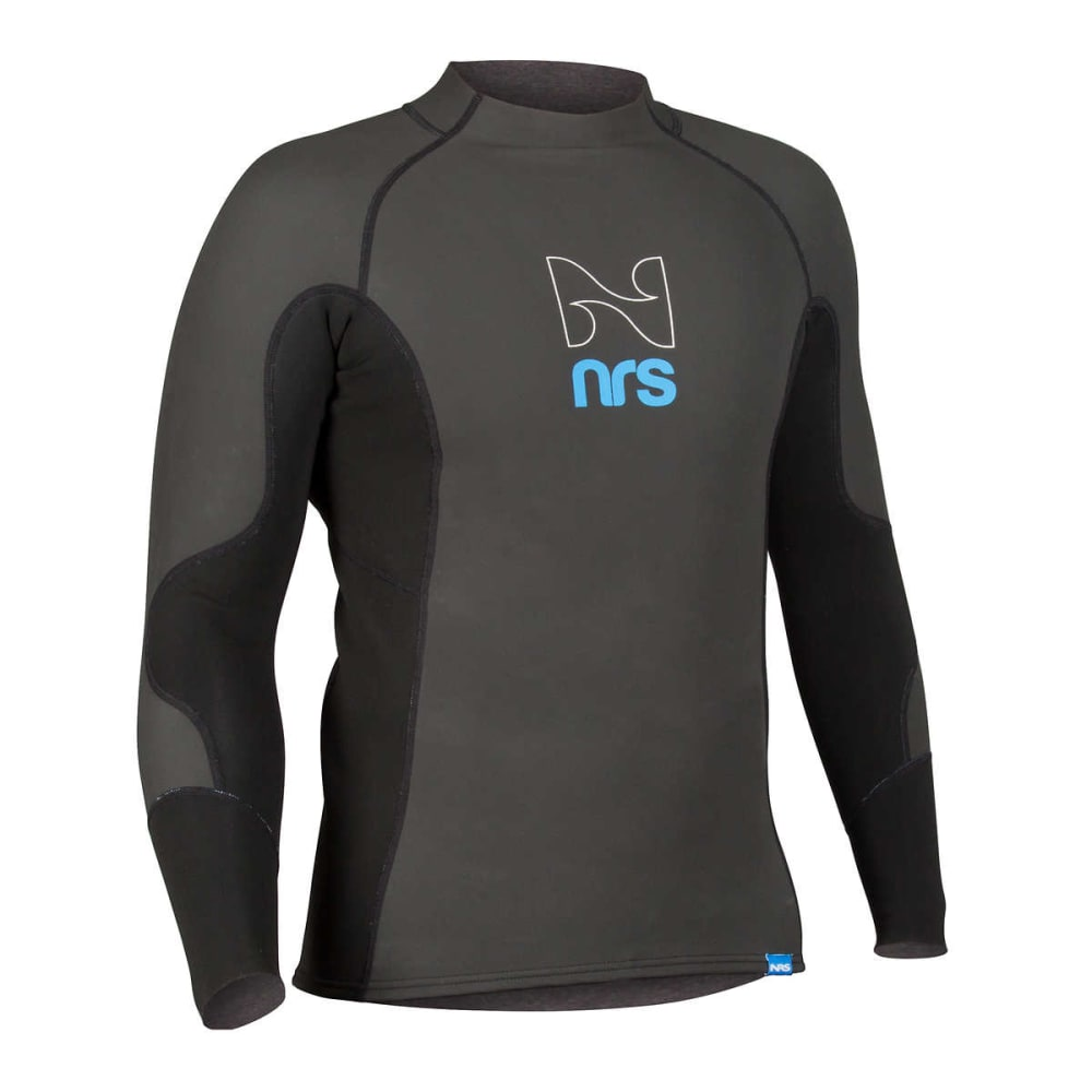 NRS Men's HydroSkin 1.0 Shirt - BLACK