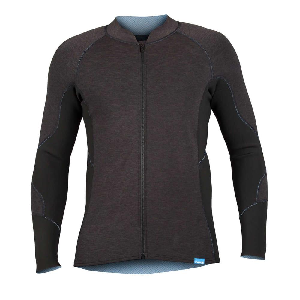NRS Men's HydroSkin 1.5 Jacket - CHARCOAL HEATHER