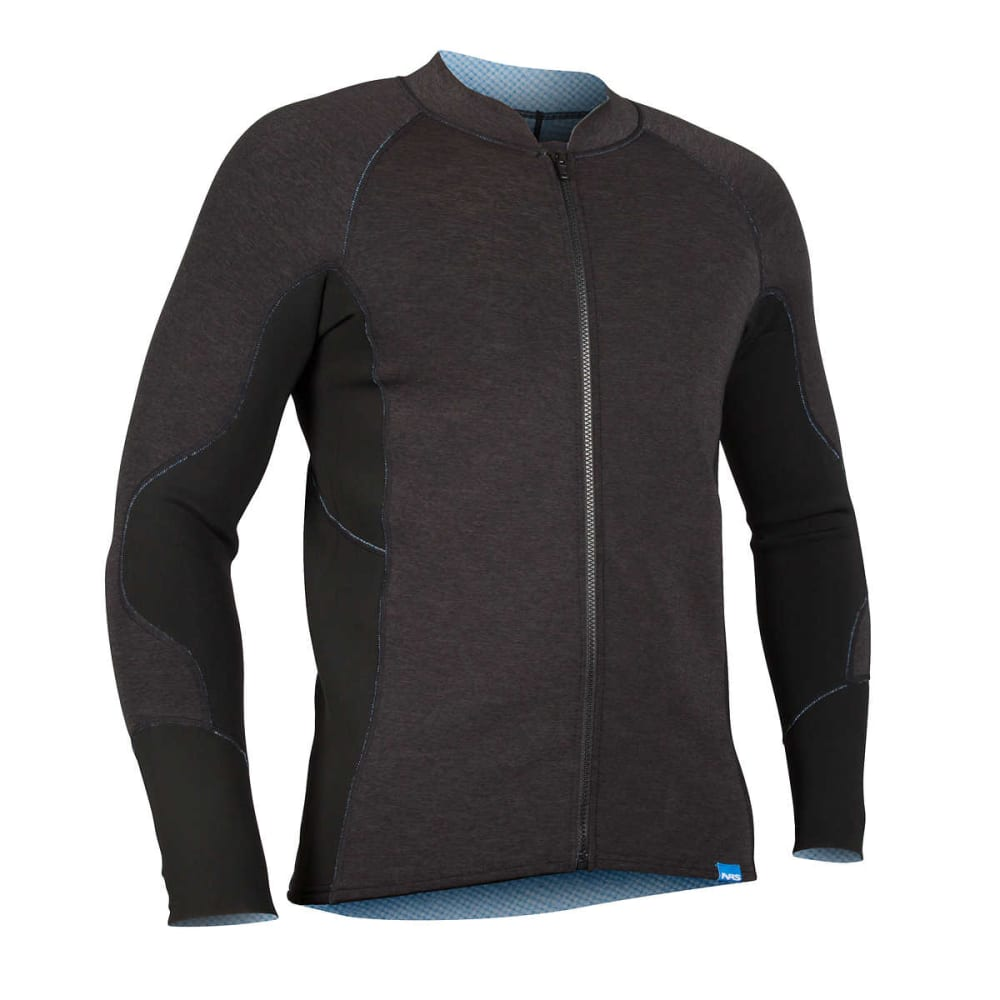 NRS Men's HydroSkin 1.5 Jacket - CHARCOAL HEATHER