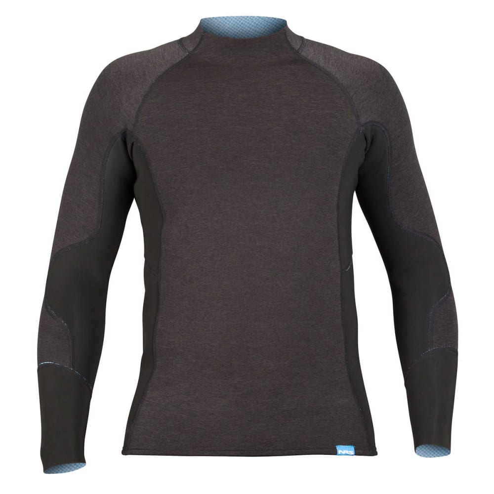 NRS Men's HydroSkin 1.5 Shirt - CHARCOAL HEATHER