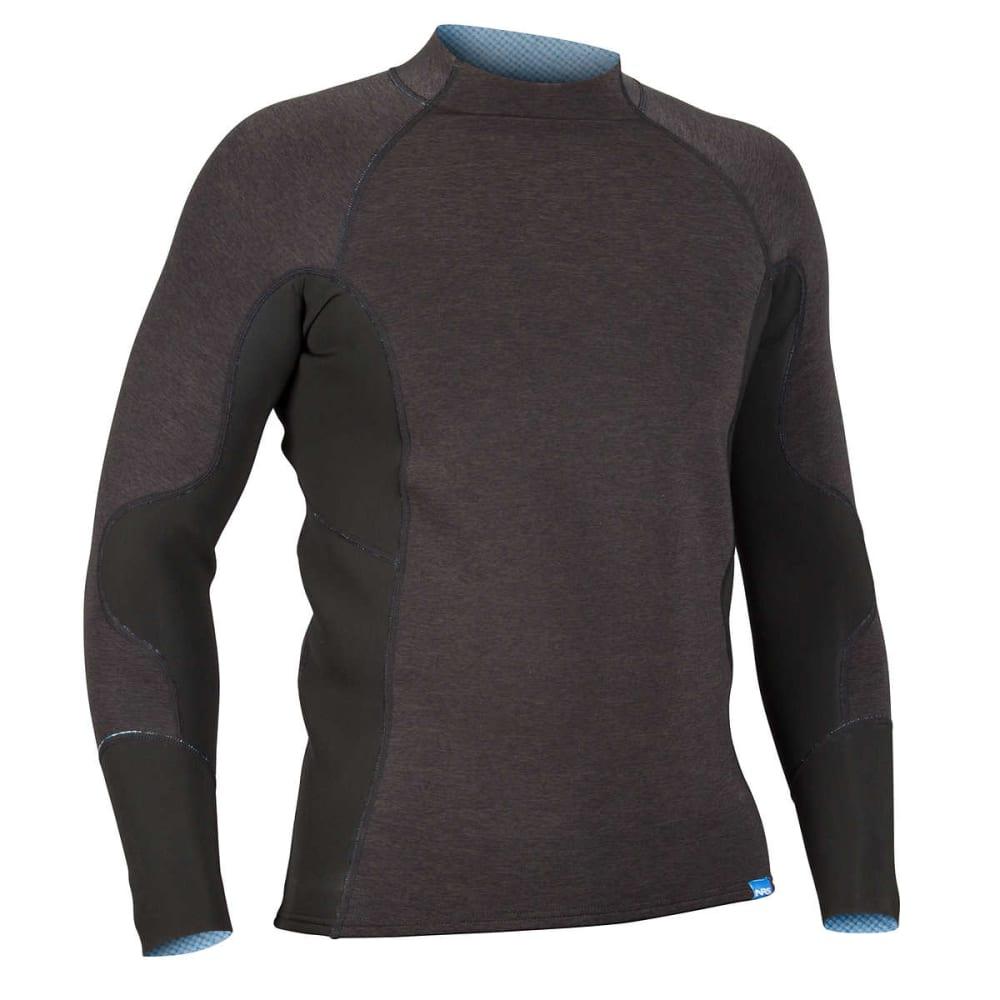 NRS Men's HydroSkin 1.5 Shirt - CHARCOAL HEATHER
