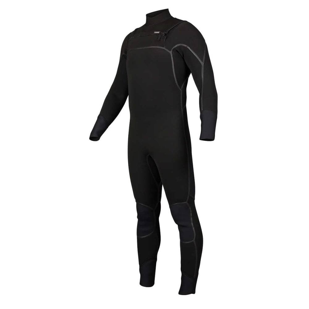 NRS Men's Radiant 4/3mm Wetsuit - BLACK