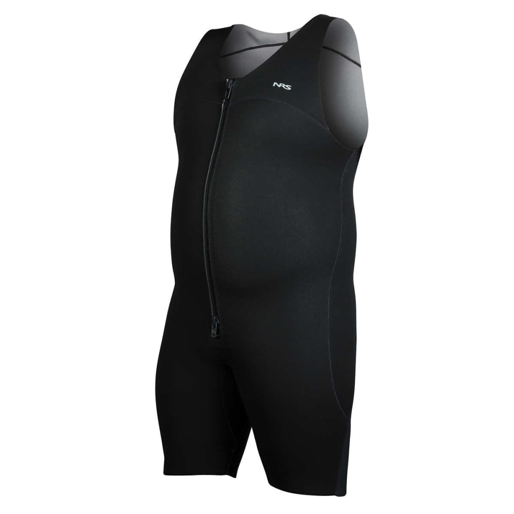 NRS Men's Grizzly 2.0 Shorty Wetsuit - BLACK