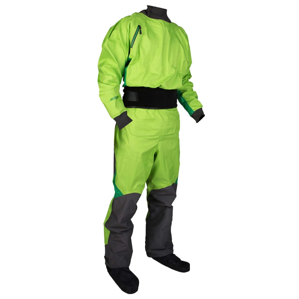 NRS Pivot Drysuit - SPRING GREEN