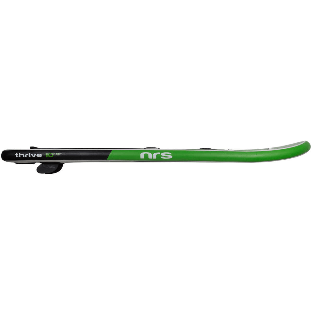 "NRS Thrive 10'3"" Inflatable SUP Board - GREEN/GREY/BLACK"