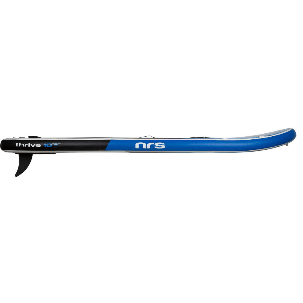 """NRS Thrive Inflatable Paddleboard, 10' 8"""" - BLUE/GREY/BLACK"""