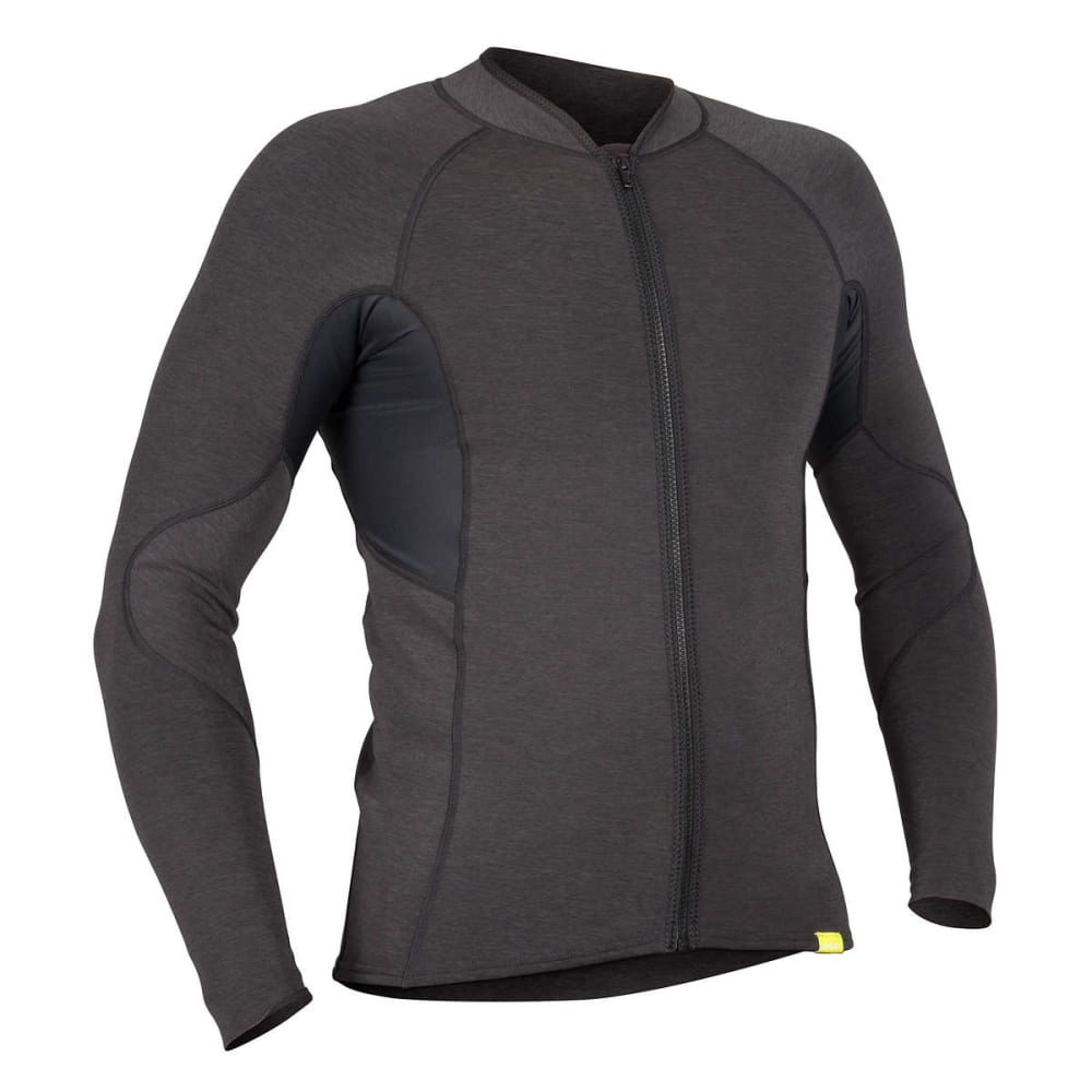NRS Men's Grizzly HydroSkin 0.5 Jacket - CHARCOAL HEATHER