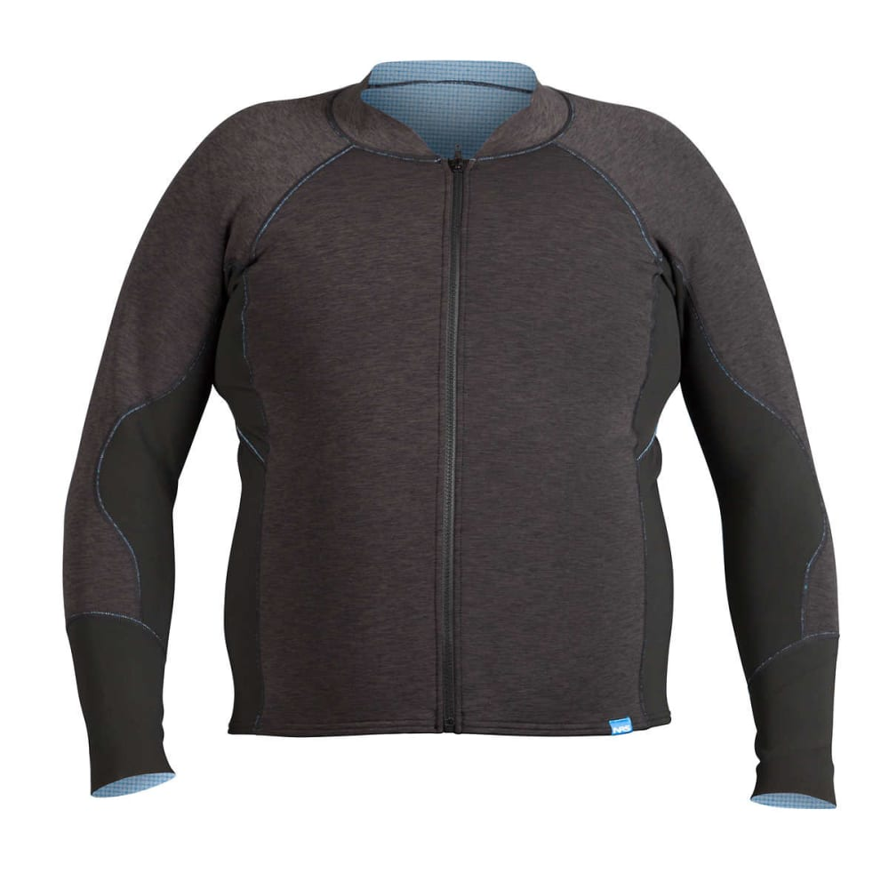 NRS Men's Grizzly HydroSkin 1.5 Jacket - CHARCOAL HEATHER