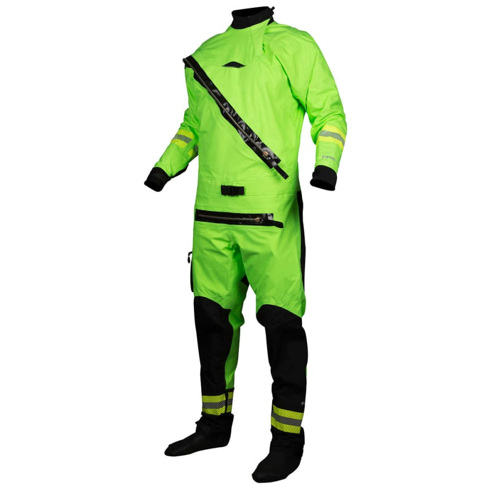 NRS Extreme SAR Drysuit - HIGH VIS GREEN