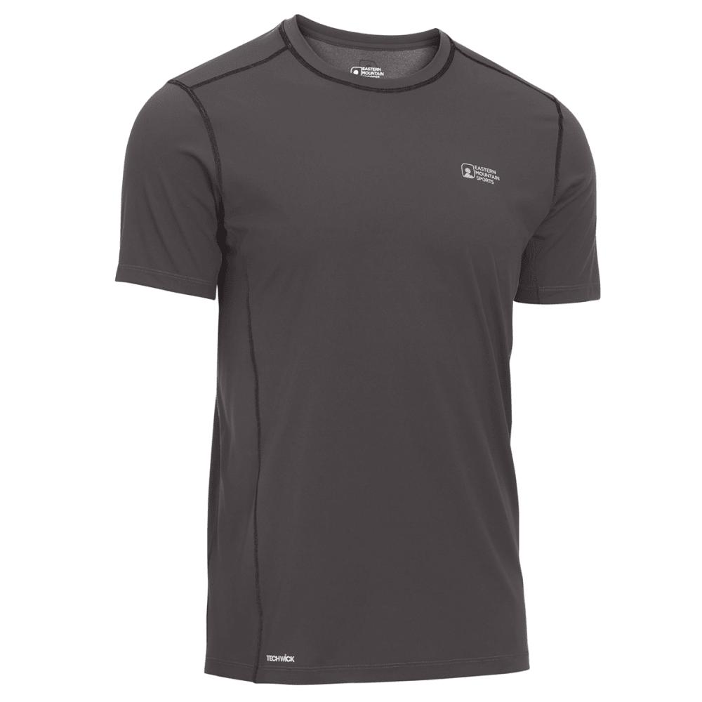 EMS® Men's Techwick® Trail Run Short-Sleeve Tee - FORGED IRON