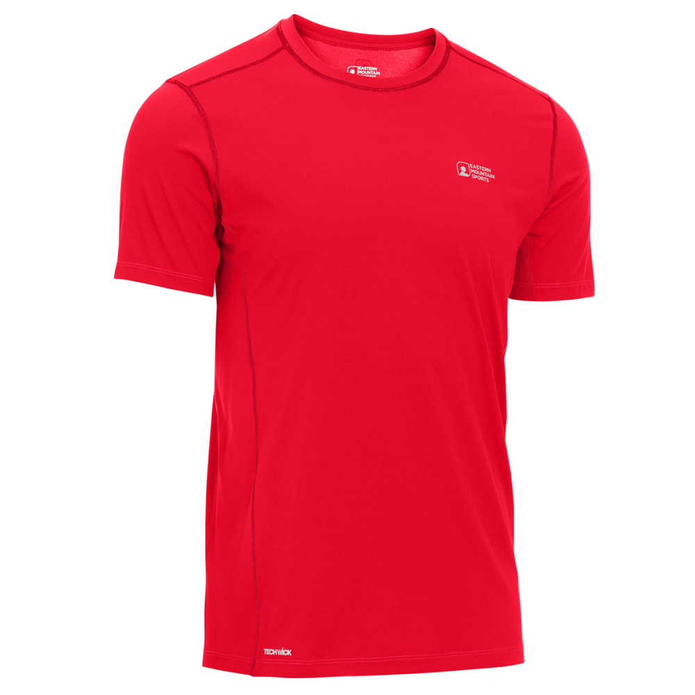 EMS Men's Techwick Trail Run Short-Sleeve Tee - SALSA