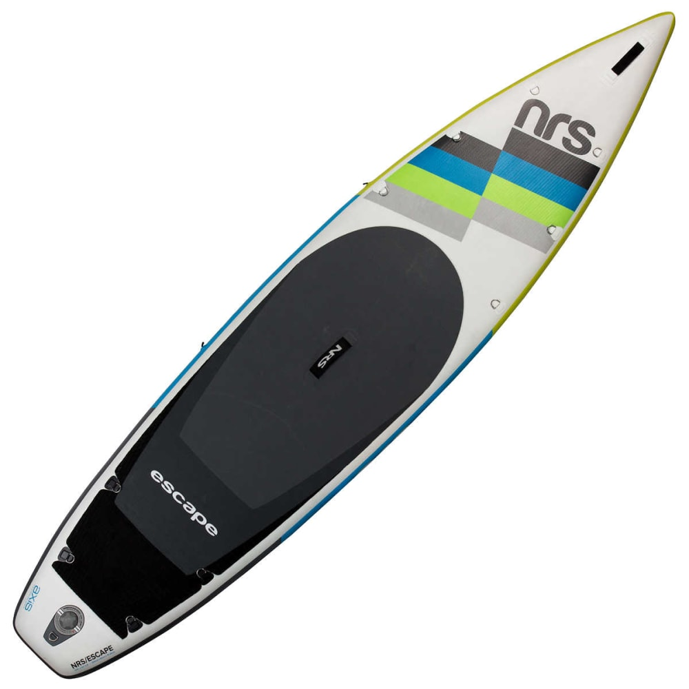 "NRS Escape 11'6"" Inflatable SUP Board - WHITE/GREY"