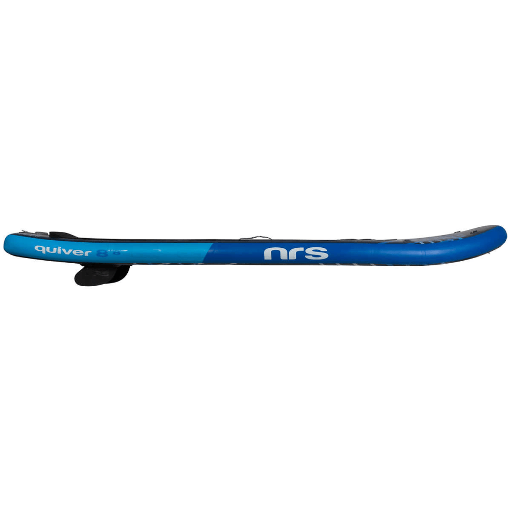 "NRS Quiver Inflatable Paddleboard, 8' 8"" - BLACK/GREY/BLUE"