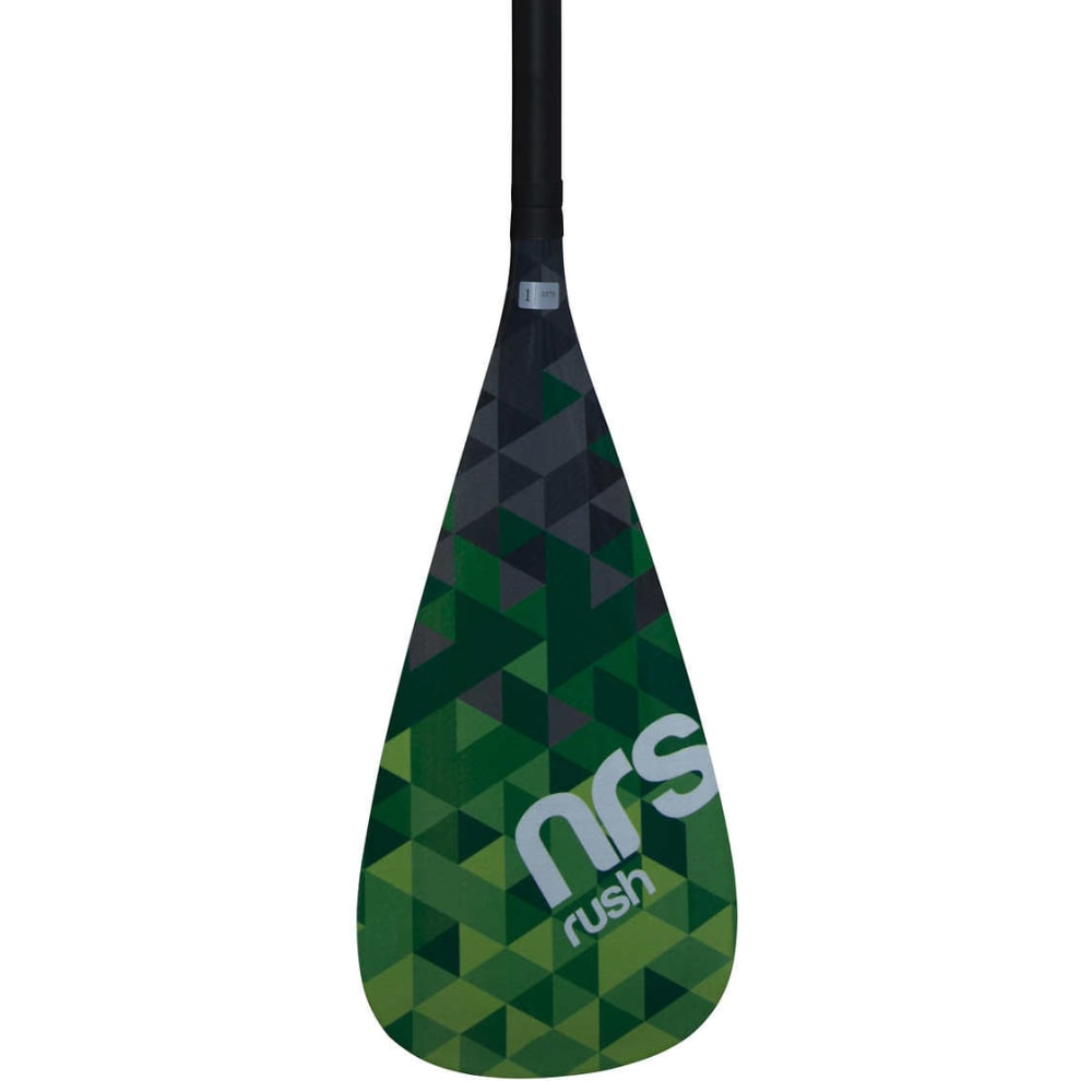 NRS Rush 3-Piece SUP Paddle - GREEN