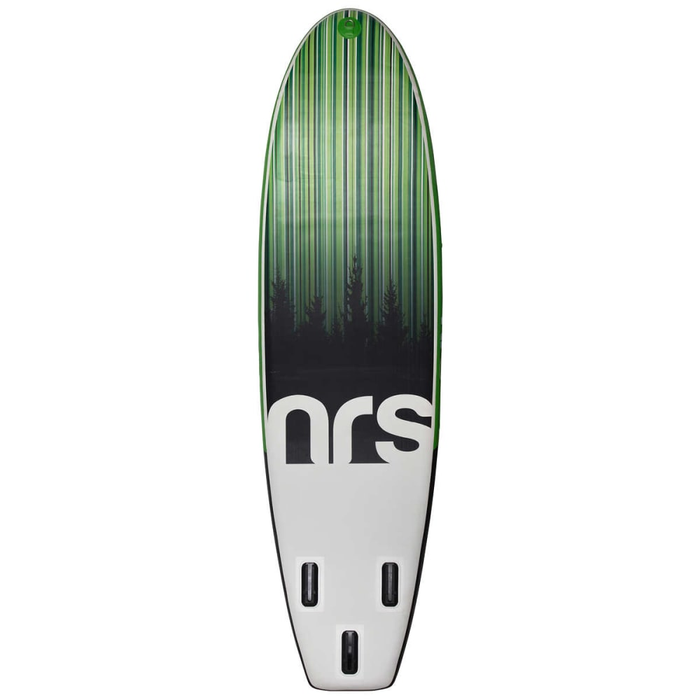 "NRS Thrive Inflatable Paddleboard, 11' 0"" - GREEN/GREY/BLACK"