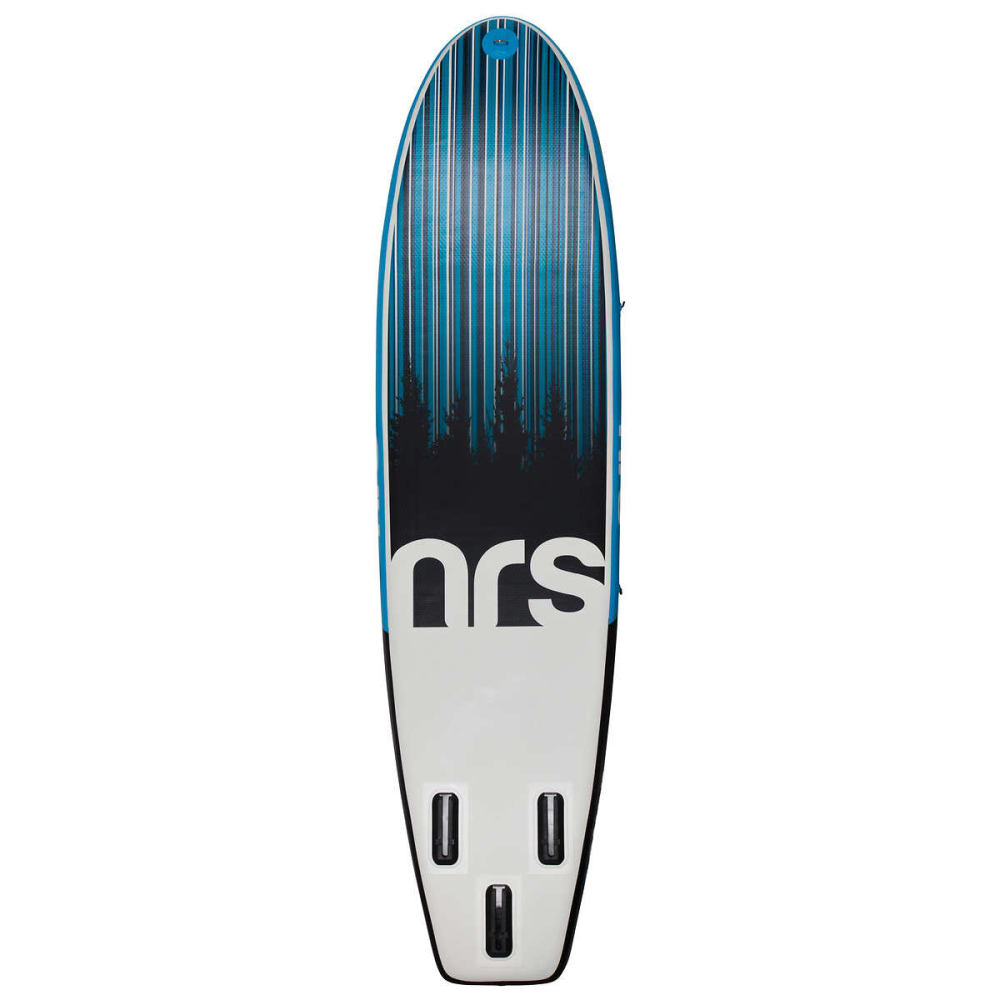 "NRS Thrive 9'10"" Inflatable SUP Board - BLUE/GREY/BLACK"