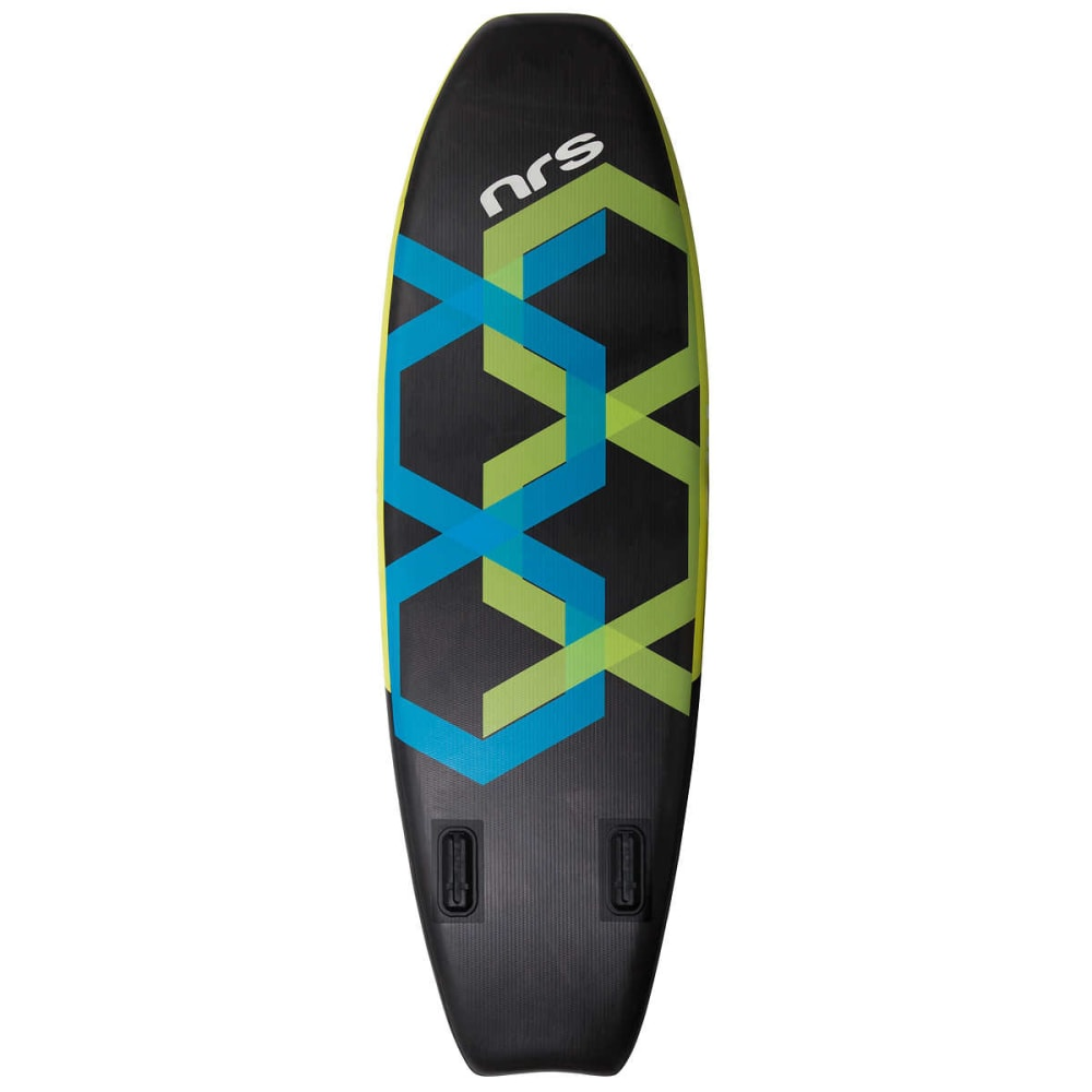 "NRS Whip Inflatable Paddleboard, 9' 2"" - BLACK/GREY/GREEN"