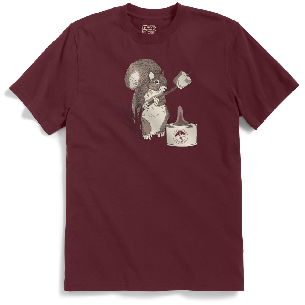 EMS Men's Roasting Marshmallows with Irving B. Squirrel Graphic Tee - PORT ROYALE