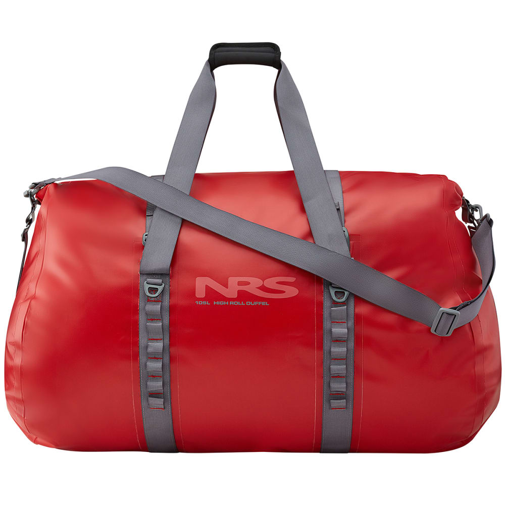 NRS High Roll Duffel Dry Bag, 105L - RED