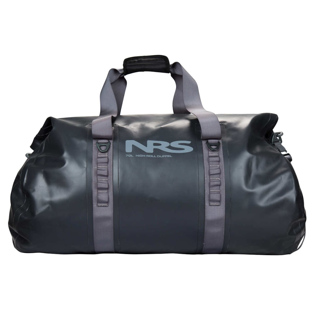 NRS High Roll Duffel Dry Bag, 70L - FLINT