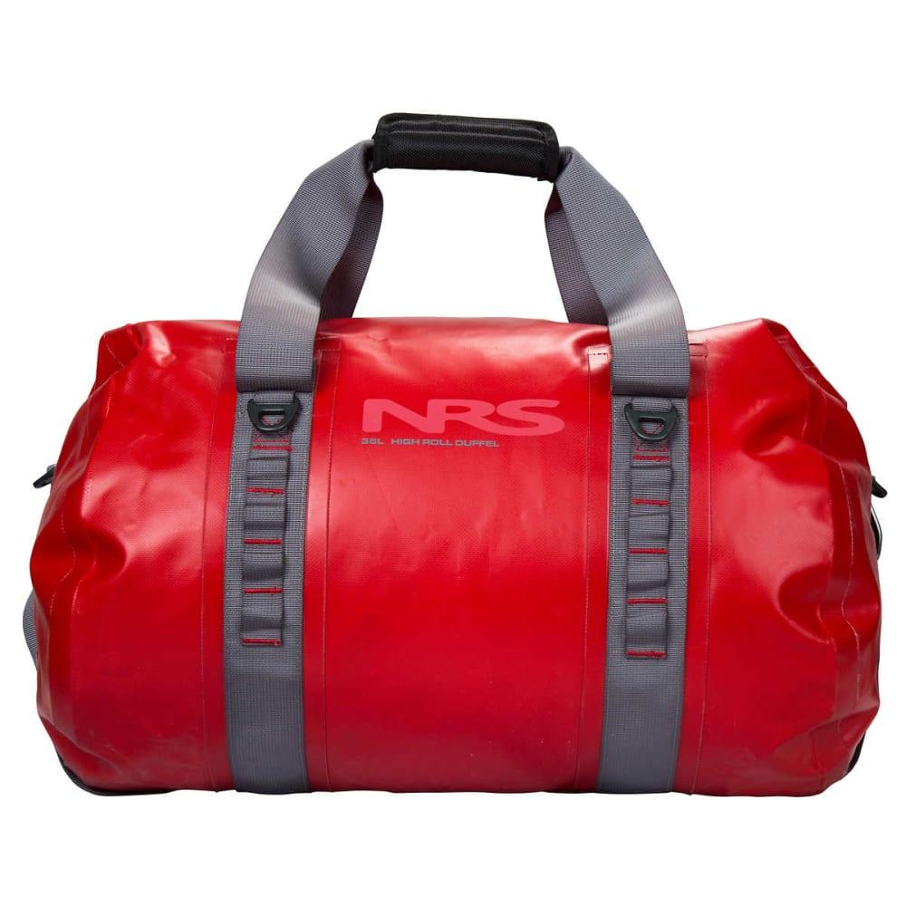 NRS High Roll Duffel Dry Bag, 70L - RED