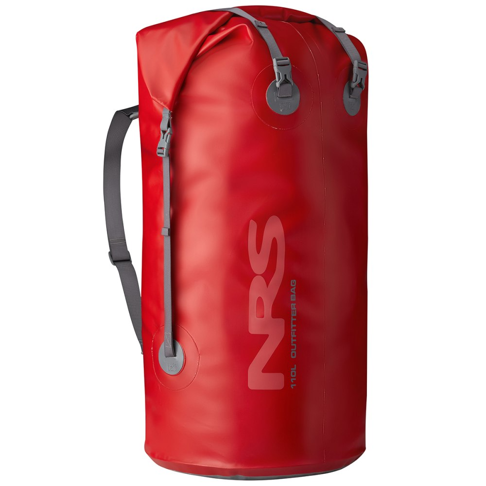 NRS Outfitter Dry Bag, 110L - RED