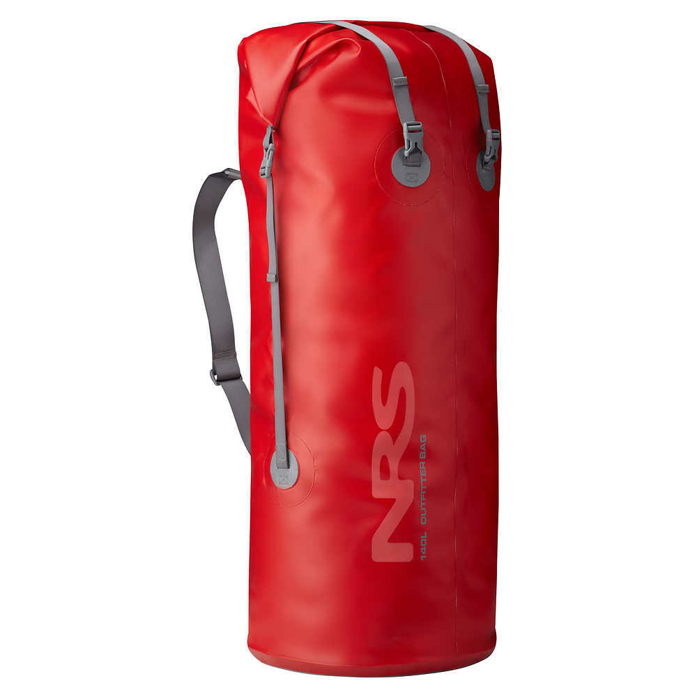 NRS Outfitter Dry Bag, 140L - RED