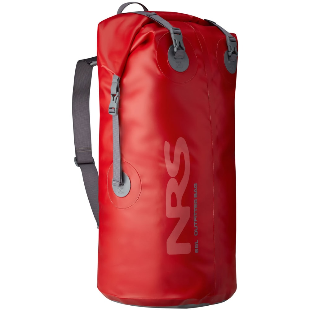 NRS Outfitter Dry Bag, 65L - RED