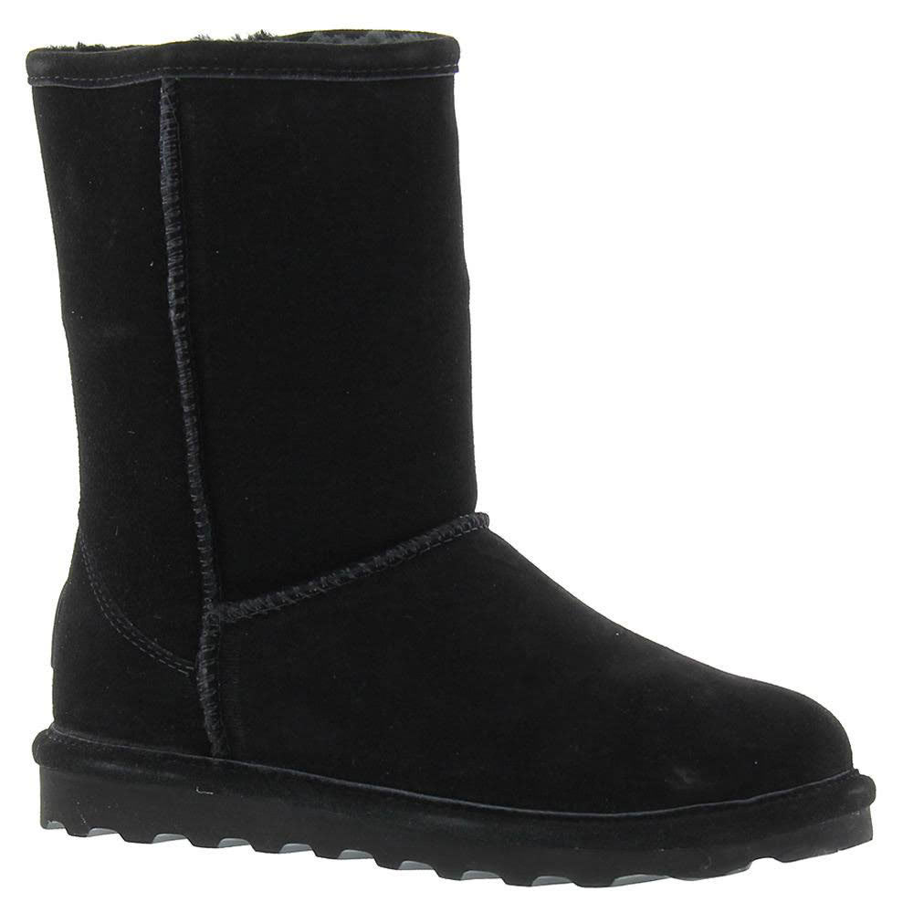 BEARPAW Women's Elle Short Boots, Black - BLACK