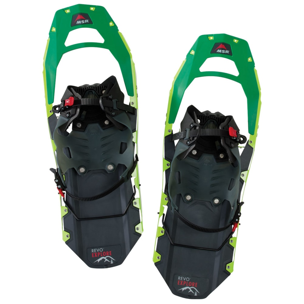 MSR Revo Explore 22 Snowshoes - SPRING GREEN