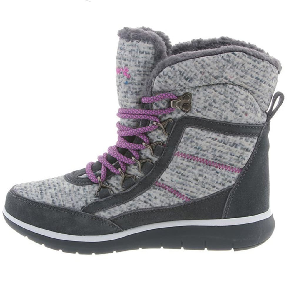 BEARPAW Women's Ruby Boots, Charcoal - CHARCOAL-030