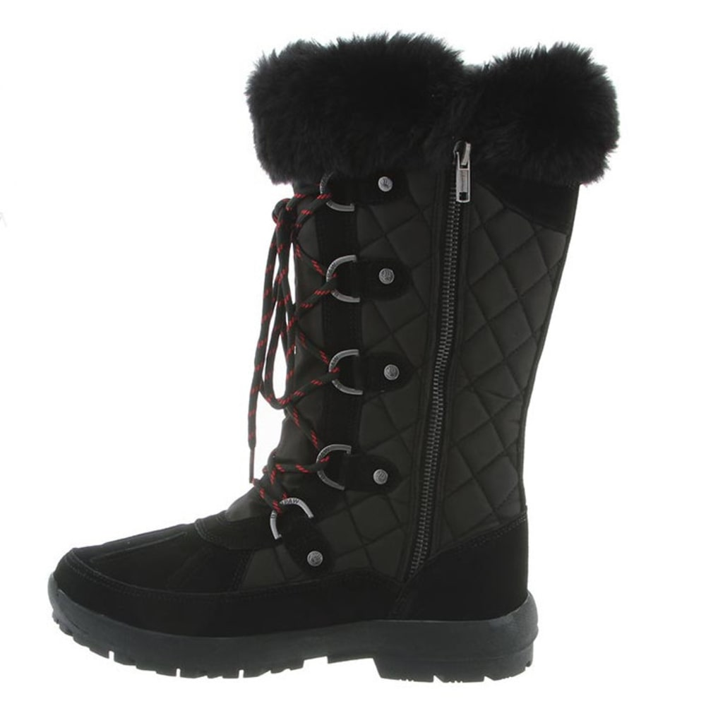 BEARPAW Women's Quinevere Boots, Black - BLACK